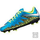Nike Kids Hypervenom Phelon II FG Soccer Cleats -  Blue and White
