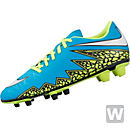 Nike Womens Hypervenom Phade II FG Soccer Cleats - Blue and White