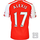 Puma Kids Alexis Arsenal Home Jersey 2014-15