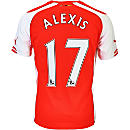 Puma Alexis Arsenal Home Jersey 2014-15