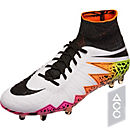 Nike Hypervenom Phantom II FG Soccer Cleats - White & Total Orange