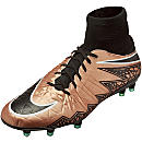 Nike Hypervenom Phatal II DF FG Soccer Cleats - Metallic Red Bronze