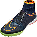 Nike HypervenomX Proximo Street TF - Black & Total Orange