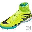 Nike Kids HypervenomX Proximo TF - Volt & Black