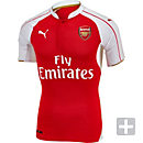 Puma Arsenal Authentic ACTV Home Jersey 2015-2016