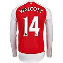 Puma Theo Walcott Arsenal L/S Home Jersey 2015-16