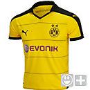 Puma Kids Borussia Dortmund Home Jersey 2015-16