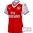 Puma Womens Arsenal Home Jersey 2016-17