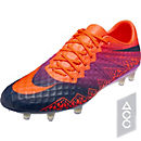 Nike Hypervenom Phinish FG Soccer Cleats - Total Crimson & Vivid Purple