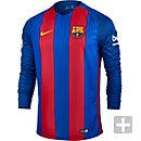 Nike Barcelona L/S Home Jersey 2016