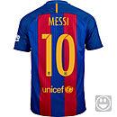 Nike Kids Lionel Messi Barcelona Home Jersey 2016-17