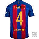 Nike Kids Ivan Rakitic Barcelona Home Jersey 2016-17
