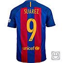 Nike Kids Luis Suarez Barcelona Home Jersey 2016-17