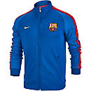 Nike Barcelona Authentic N98 Track Jacket - Sport Royal & Lyon Blue