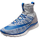 Nike Free Mercurial Superfly - Wolf Grey and Royal
