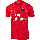Nike PSG Pre-Match Training Top - Ember Glow & White