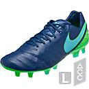 Nike Tiempo Legend VI FG Soccer Cleats - Coastal Blue & Rage Green