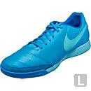 Nike Tiempo Genio II IC Soccer Shoes - Leather - Blue Glow & Soar