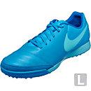 Nike Tiempo Genio II TF Soccer Shoes - Leather - Blue Glow & Soar