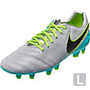 Nike Tiempo Legacy II FG Soccer Cleats - Wolf Grey & Clear Jade