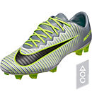 Nike Mercurial Vapor XI FG Soccer Cleats - Pure Platinum & Ghost Green
