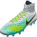 Nike Magista Orden II FG Soccer Cleats - Pure Platinum & Ghost Green