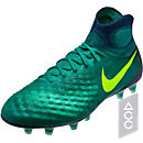 Nike Magista Obra II FG Soccer Cleats - Rio Teal & Obsidian