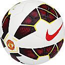 Nike Manchester United Prestige Soccer Ball - White and Black