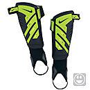 Nike Youth Protegga Shield Shin Guards  Black with Green