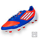 adidas Youth F30 TRX FG  Infrared with Running White and Bright Blue