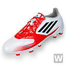 adidas Womens F10 TRX FG Soccer Cleats  White and Core Energy