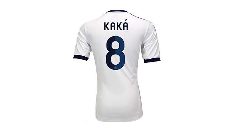 adidas Youth Real Madrid Kaka Home Jersey 2012-2013