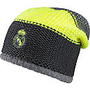 adidas Real Madrid Beanie - Grey & Solar Yellow