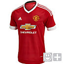adidas Kids Manchester United Home Jersey 2015-2016