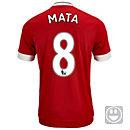 adidas Kids Juan Mata Manchester United Home Jersey 2015