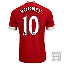 adidas Kids Wayne Rooney Manchester United Home Jersey 2015-16