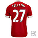 adidas Kids Marouane Fellaini Manchester United Home Jersey 2015