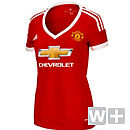 adidas Womens Manchester United Home Jersey 2015-2016