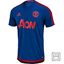 adidas Kids Manchester United Training Jersey - Royal & Scarlet