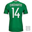 adidas Kids Chicharito Mexico Home Jersey 2016