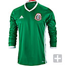 adidas Mexico L/S Home Jersey 2016