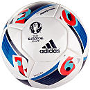 adidas Euro 16 Competition Match Ball - White & Bright Blue
