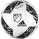 adidas MLS 2016 Top Training Soccer Ball (NFHS) - White & Shock Blue