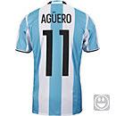 adidas Kids Sergio Aguero Argentina Home Jersey 2016-17