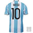 adidas Kids Lionel Messi Argentina Home Jersey 2016