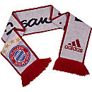 adidas Bayern Munich Scarf - White & Night Navy