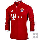 adidas Bayern Munich L/S Home Jersey 2016-17