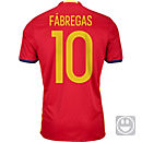 adidas Kids Cesc Fabregas Spain Home Jersey 2016