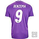 adidas Karim Benzema Real Madrid Away Jersey 2016-17