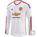 adidas Manchester United L/S Away Jersey 2015-2016